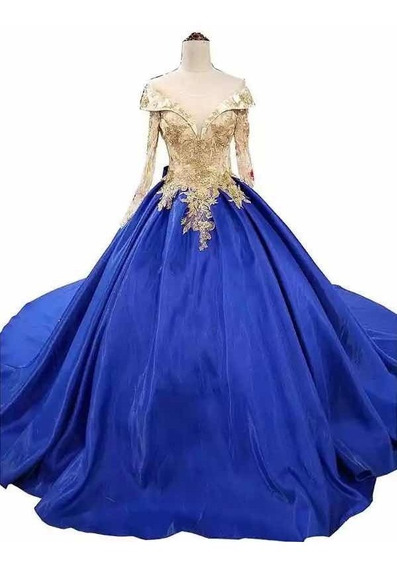 Elegante Vestido De Xv Años Transparencias Flores Bordadas