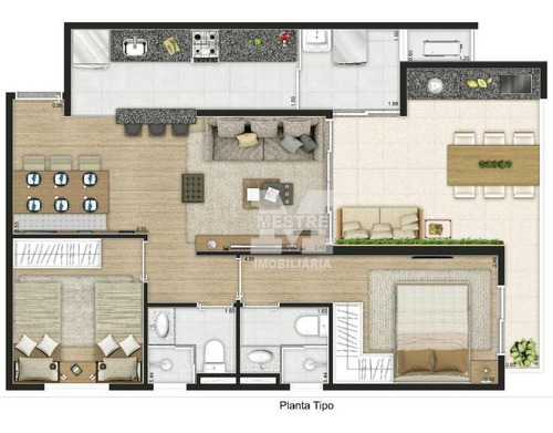 Apartamento Com 2 Dormitórios À Venda, 68 M² Por R$ 500.000,02 - Vila Moreira - Guarulhos/sp - Ap2822