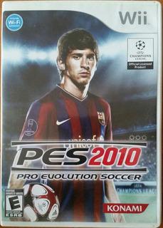 Pes 2010 Juego Para Wii