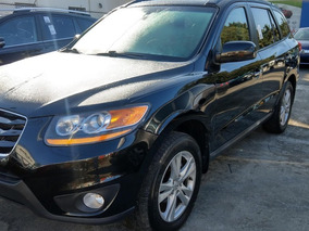 Hyundai Santa Fe Limited Awd Negra 2011