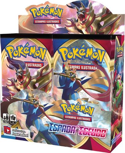 Booster Box Espada E Escudo - Pokémon Tcg [ee1]