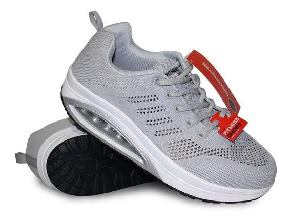 Tenis Step Fitness Tv Caminar Correr Tonificar Adelgazar Gym