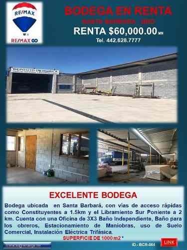 Renta De Bodega
