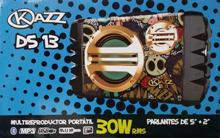 Parlante Portatil Kazz Ds13 Radio Usb Sd Pendrive Karaoke