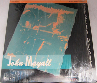 John Mayall - Purely Music Importado Usa Laserdisc