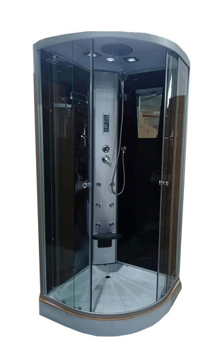 Box De Ducha C/escocesa,radio,luz,tel 100x100 Vidrio 5mm
