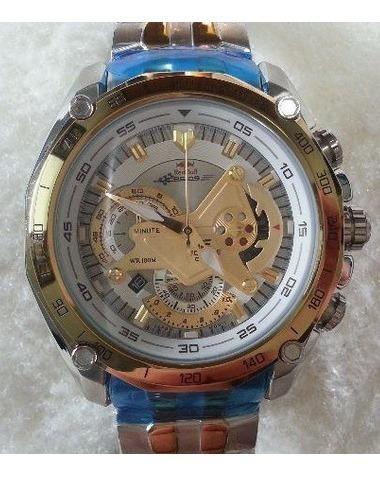 Relógio Casio Edifice Ef-550-rbsp Ef550rbsp Frete Gratis