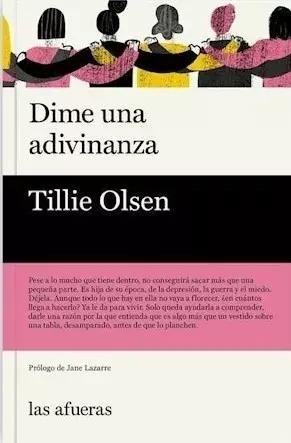 Dime Una Adivinanza - Tillie Olsen - Envío Gratis Caba (*)