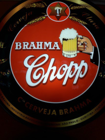 Luminoso Decorativo Cerveja Brahma Chopp Vintage Retro Bar