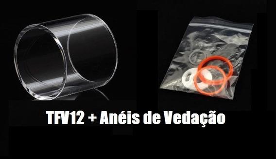 Vidro Reposição Tfv12 + Aneis De Vedação