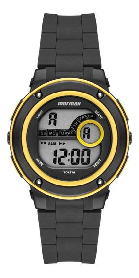 Relógio Mormaii Digital Unissex Wave Surf Sport Preto Nfe