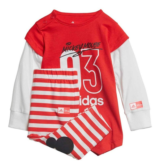 Conjunto Moda adidas Disney The Mouse Bebes