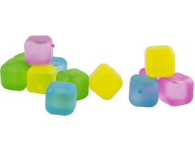Cubos De Gelo Artificiais Reutilizáveis Coloridos 12 Uni