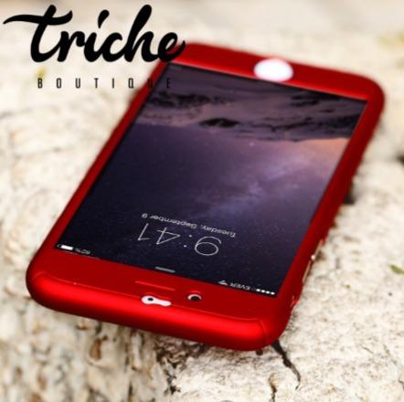 Case 360 Cristal Templado Slim iPhone 6 Plus iPhone 6s Plus