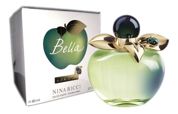 Bella Nina Ricci Eau De Toilette Feminino 80ml