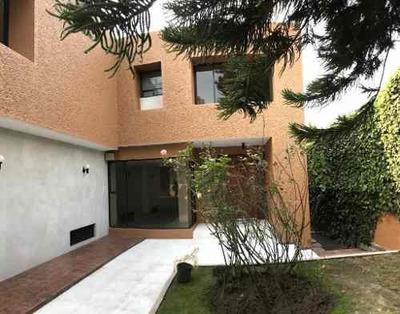 Lomas De Chapultepec, Preciosa Casa Con Alberca En Renta