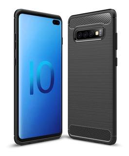 Capa Capinha Anti Impacto Fibra Samsung Galaxy S10 Plus 6.4