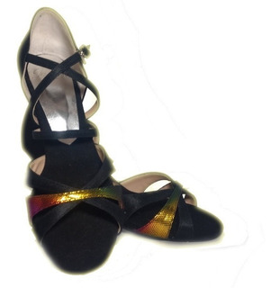 Sandalias Baile Flexibles Irasha (ballroom/salsa/tango)t.39