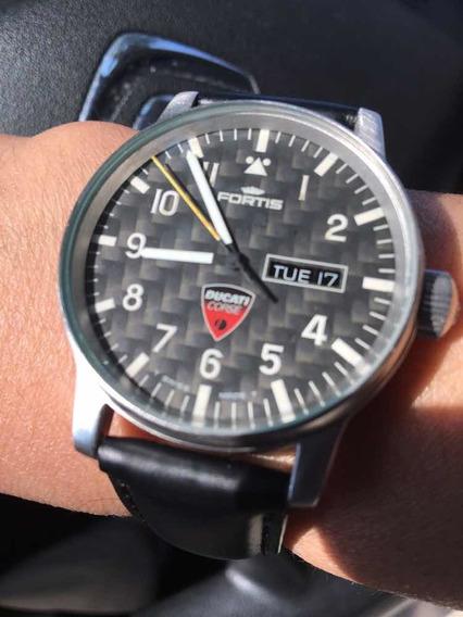 Relógio Fortis Ducati Corse Edição Limitada 40 Mm T8