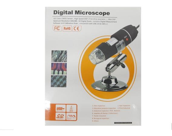 Microscópio Digital Usb 1000x Zoom Camera 2.0mp Original