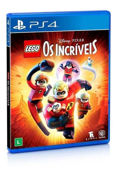 Lego Os Incríveis Ps4 Mídia Física Lacrado Pt/br