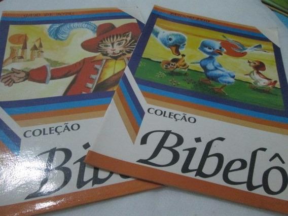 Livro Gato De Botas Patinho Feio Bibelo Usados R.687