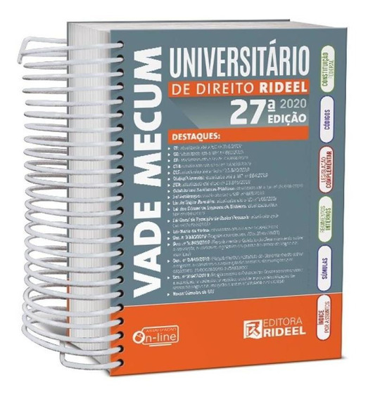 Vade Mecum Universitario De Direito - 2020 - Espiral - Ridee