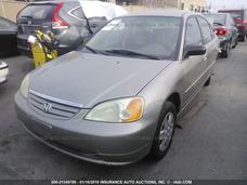 Honda Civic 2003 Yonkeado Para Partes