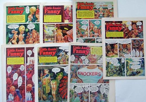 Imagen 1 de 8 de Annie Fanny 7 Comics Playboy Original Set 1