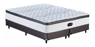 Sommier Simmons 200x200 Backcare Siesta Soporte Extra Firme