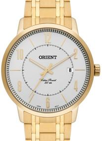 Relógio Orient Masculino Dourado - Mgss1110 S2kx