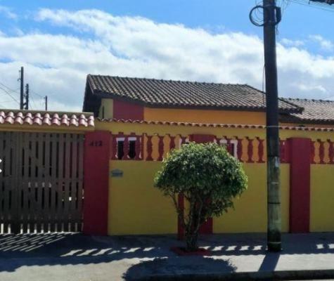 (ref:3377) Casa 900 Mts Do Mar - Itanhaém/sp - Belas Artes