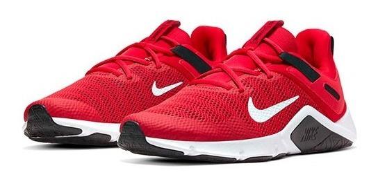 Tenis Nike Legend Essential Rojo Tallas De #25 A #29 Hombre