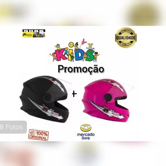 Capacete Moto Tork Infantil Liberty Kids Kit 02