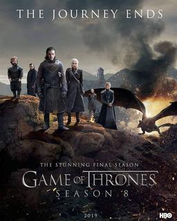 Game Of Thrones Temporada 8 Latino/inglés Dvd