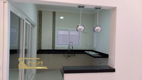 Imagem 1 de 24 de Linda Casa De 03 Dormitórios, Sendo 03 Suítes, No Condomínio Costa Das Areias, Salto/sp - Ca00108 - 69501398