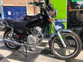 Suzuki Gn 125cc Solo Con Dni- Aprob Telefonica