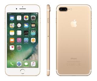 Apple iPhone 7 Plus 128gb Gold 4g Anatel Lacrado Na Cx