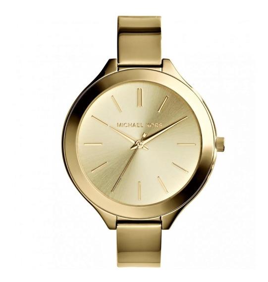 Relógio Pulso Feminino Michael Kors Aço Dourado Mk3275