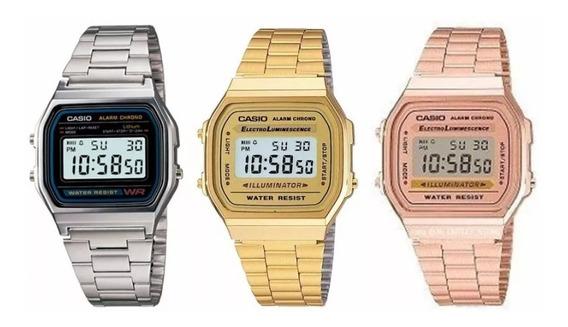 Relógio Digital Casio Similar ( Combo)