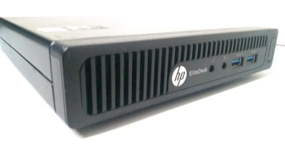 Cpu Hp Elitedesk Mini Amd A8 16gb 1 Tb - Pronto P/uso