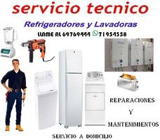 Técnico, Reparación Y Mantenimiento De Toda La Línea Blanca