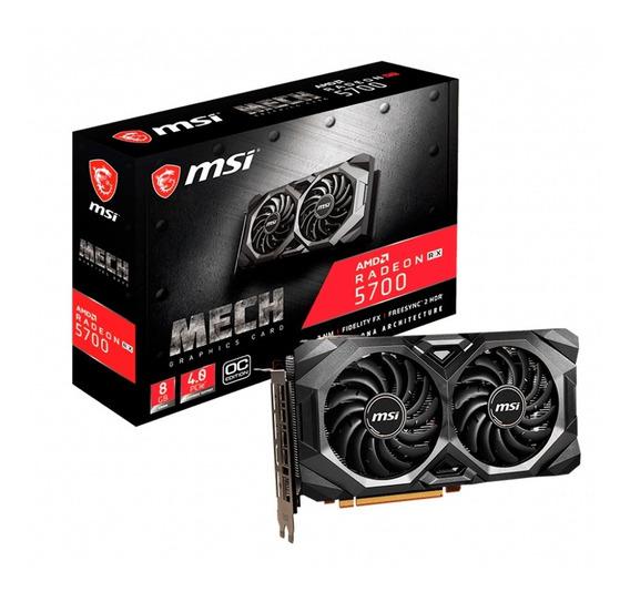 Placa De Video Amd Radeon Msi Rx 5700 8gb Mech Oc 3