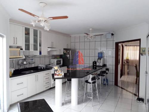 Casa Com 3 Dormitórios À Venda, 150 M² Por R$ 480.000,00 - Campo Limpo - Americana/sp - Ca0771