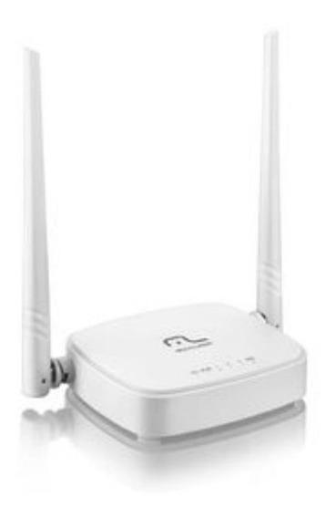 Roteador 300mbps Duas Antenas Branco Multilaser Re160v