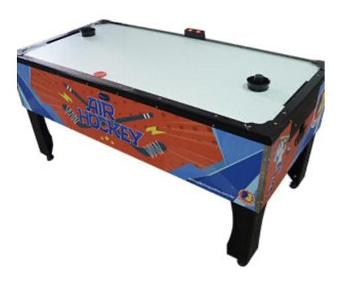 Mesa Aero Hockey Air Game Super Com Placar Digital P/ Buffet