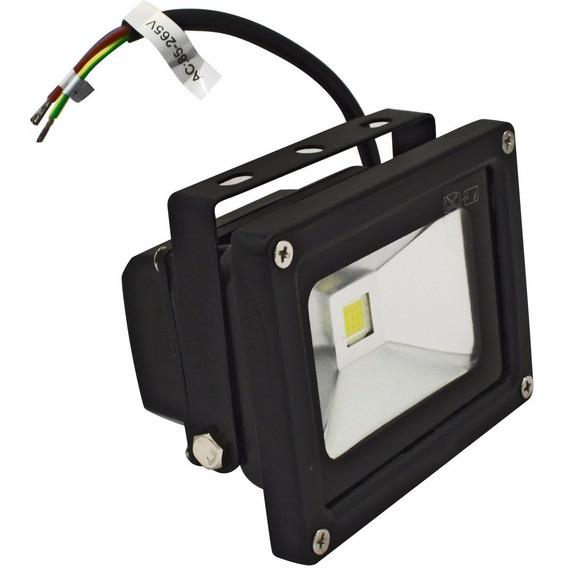 Mini Reflector Lampara Luz Led Exterior 10w Luminario Reflec