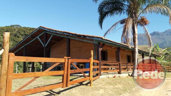 Sítio Com 15 Hectares Casa Com 03 Dormitórios À Venda, 150000 M² Por R$ 850.000 - Zona Rural - Queluz/sp - Si0101