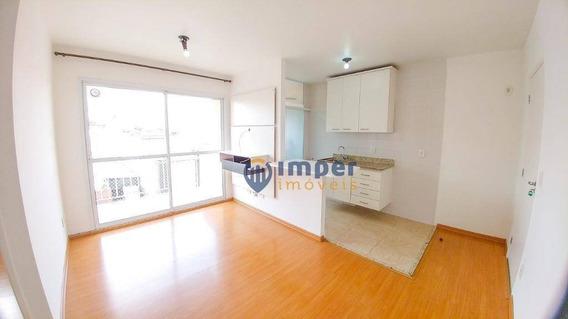 Apartamento Com 2 Dormitórios Para Alugar, 53 M² Por R$ 2.000,00/mês - Barra Funda - São Paulo/sp - Ap5892