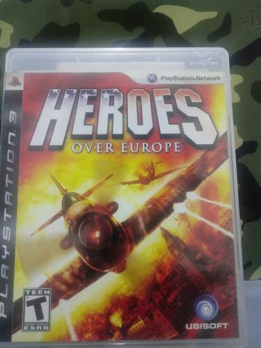 Heroes Over Europe Ps3 Fisico En Español Z/lomas De Zamora